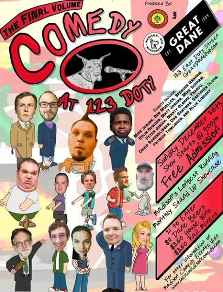 Comedy at 123 Doty vol, 24