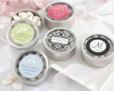 Candy Tin Favors, starting at $1