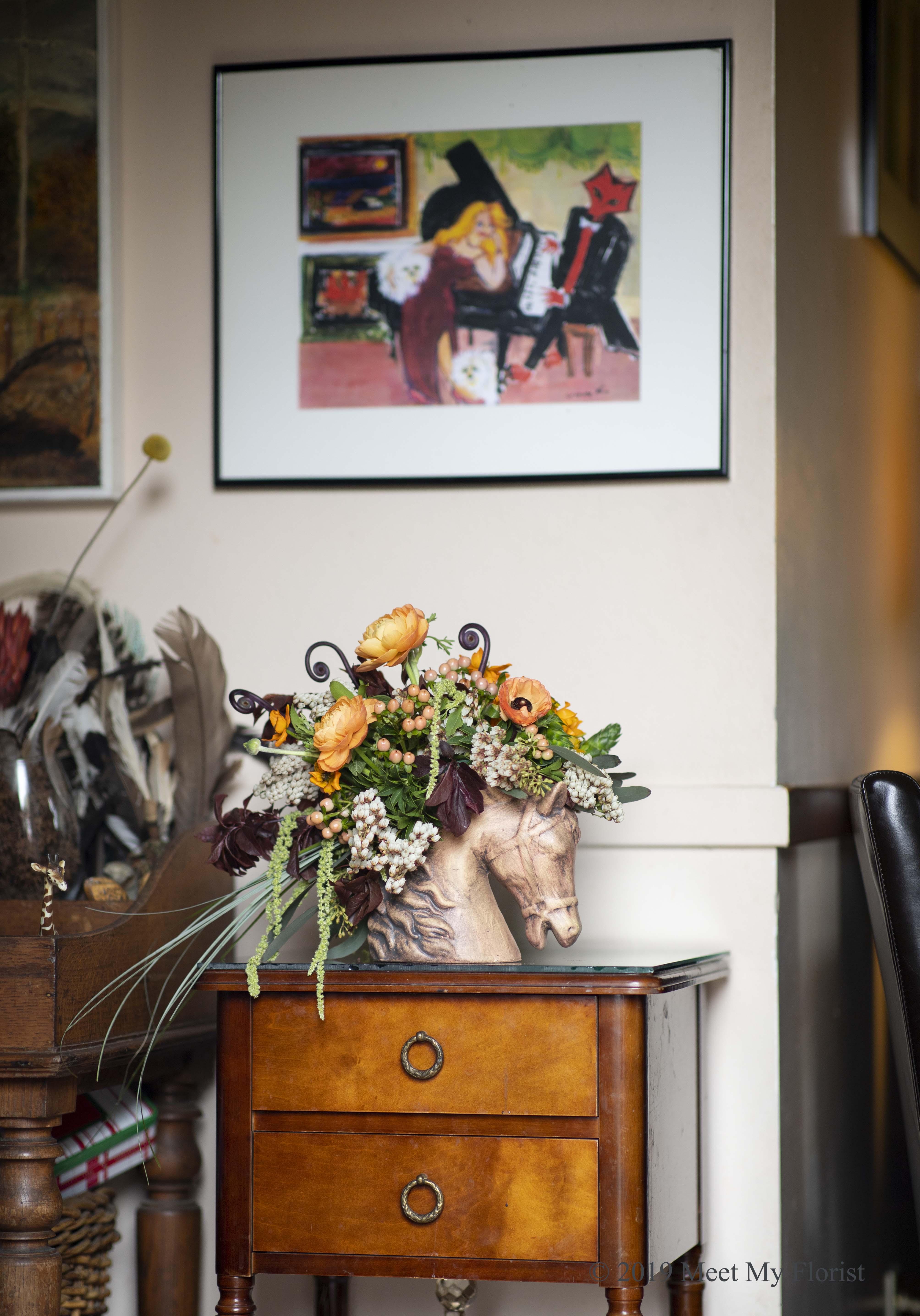 Horse's Mane Arrangement