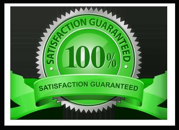 100% satisfaction guarantee!