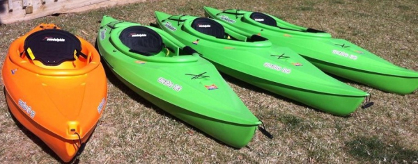 Kayak rental fleet