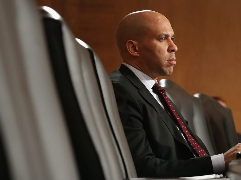 Senator Cory Booker (D-NJ) has recently been gaining national prominence.