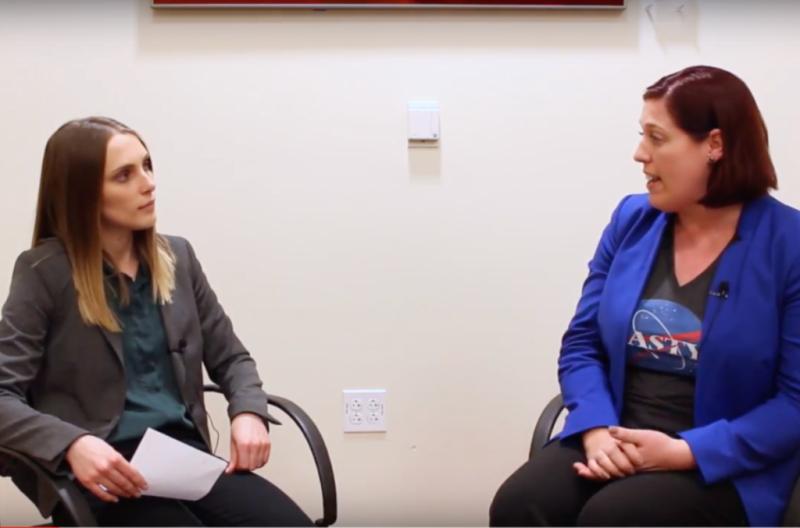 Clara Varner's Interview with US Congress Candidate, Tracy Van Houten