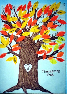 The Thanksgiving Tree