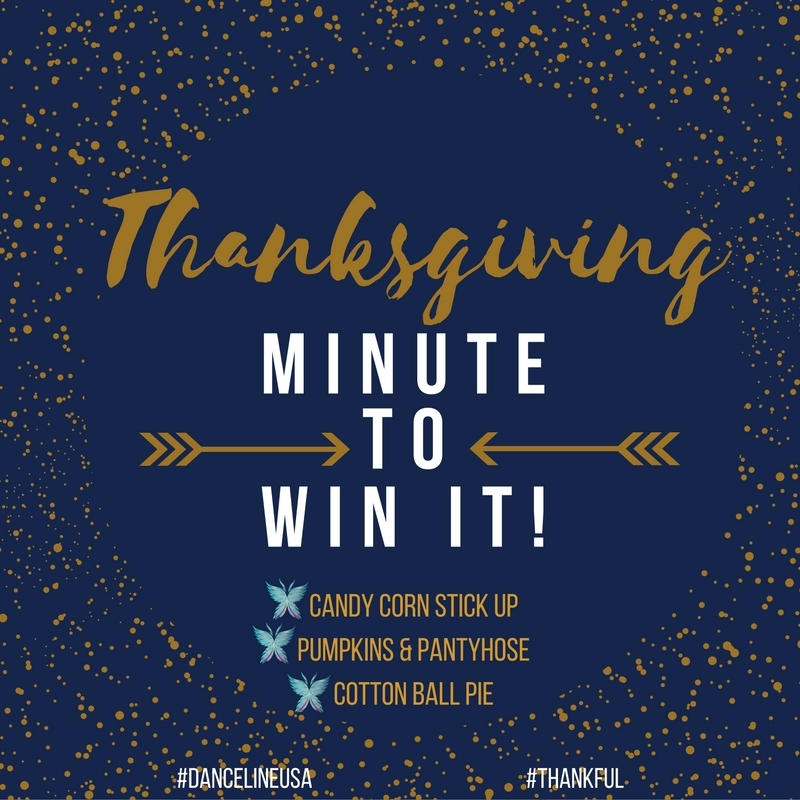 Minute To Win It:  Thanksgiving Edition