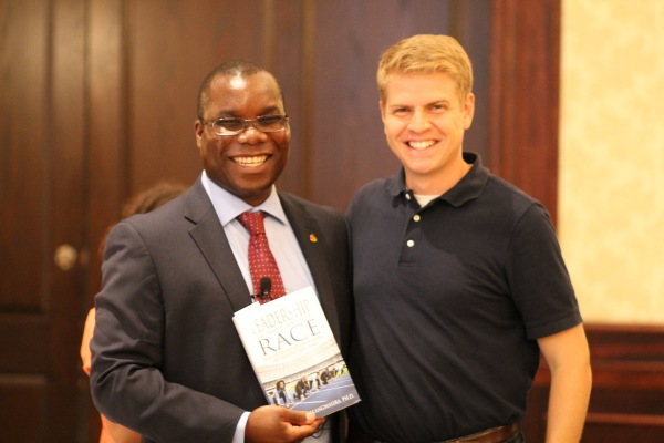 Dr. Malangwasira and Matt Batzel