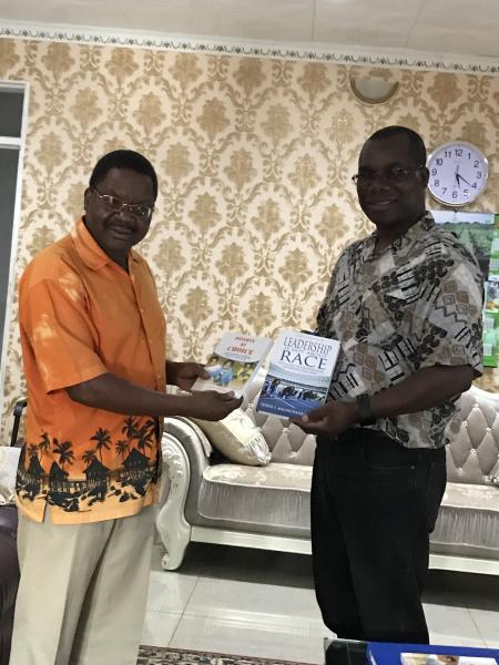 With Dr. Kamdonyo