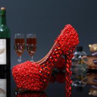 red, white, flower, heels.