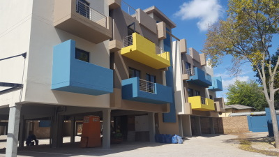 colourful balconies giving a youthful ambience