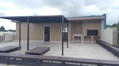ROOF RECREATIONAL AREA WITH BRAAI