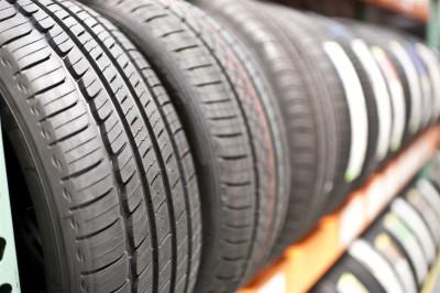 Tires on Shelves