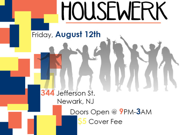 Creative Project: Homecoimg Party Flyer
