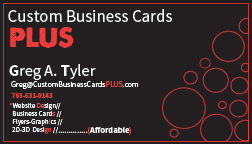 Creative Project: Business Card