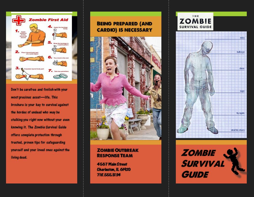 Creative Project: Creative Brochure (Cover)