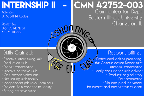Internship Info Poster