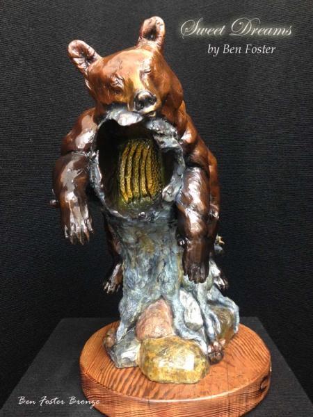 Bronze, Black Bear, Sculpture, Bronze Art, Ben Foster