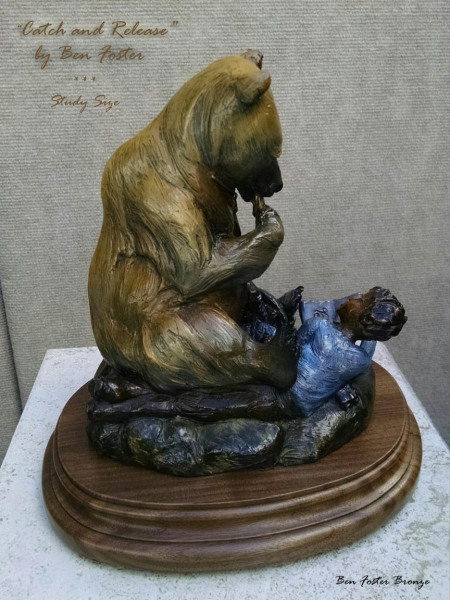 Small Bronze Bear, Small Grizzly, Ben Foster
