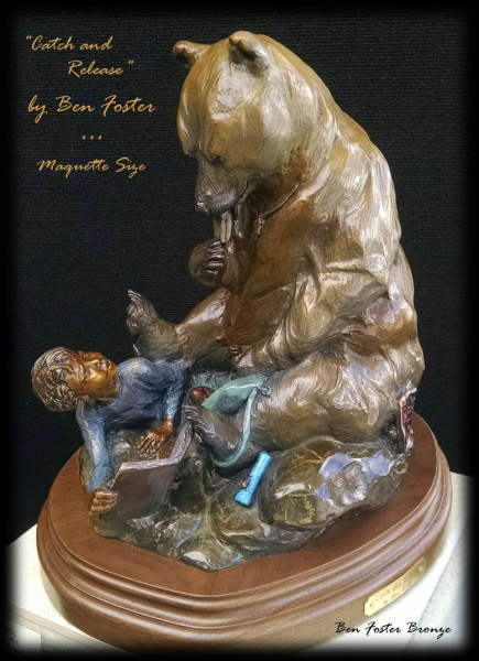 Bronze Bear Monument, Ben Foster