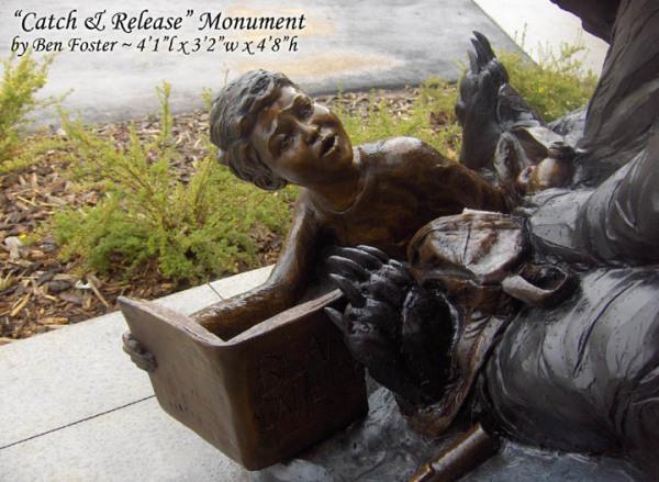 Bronze Black Bear, Bear Sculpture, Outdoor Sculpture, Whimsical Art, Ben Foster