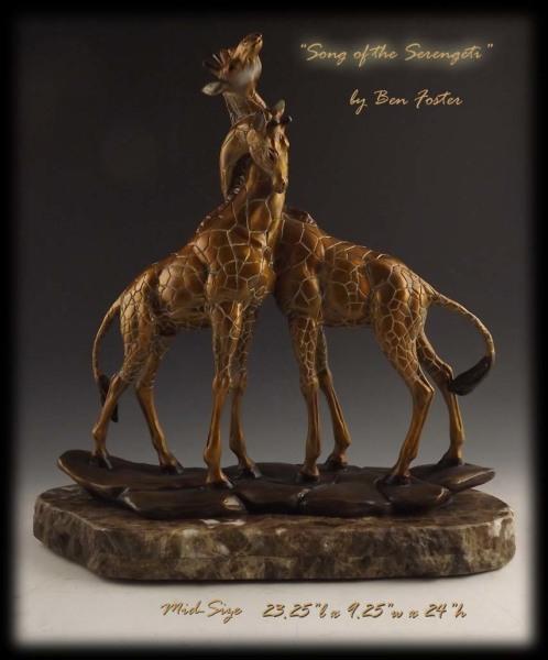 Bronze Giraffes, giraffe sculpture, giraffe