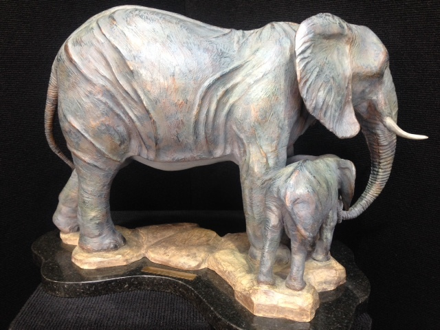 Bronze Elephant, Elephant Sculpture, elephant