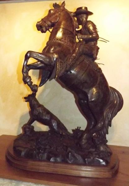 Roy Rogers, Bronze Cowboy