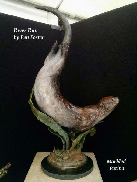 Bronze River Otter