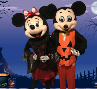 Mr and Ms. Mouse (Halloween) [NEW!]