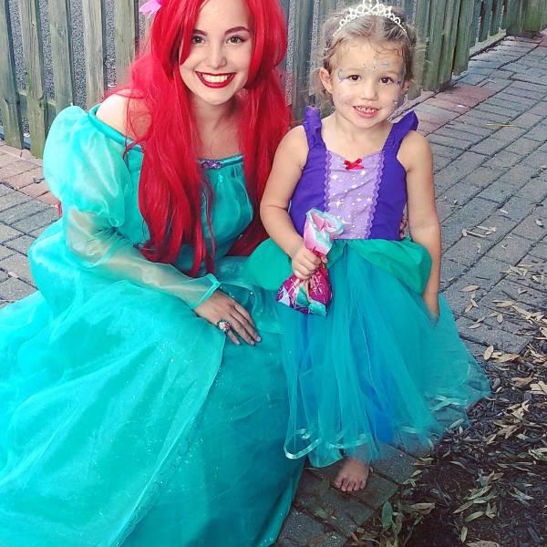 Ariel little mermaid princess party virginia