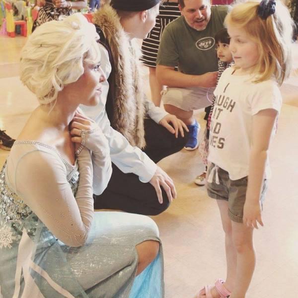 Elsa Princess party northen Virginia