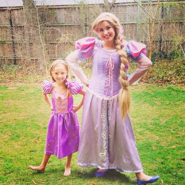 tangled rapunzel princess party
