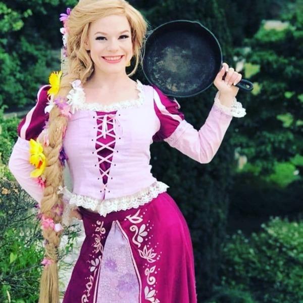 tangled rapunzel princess party