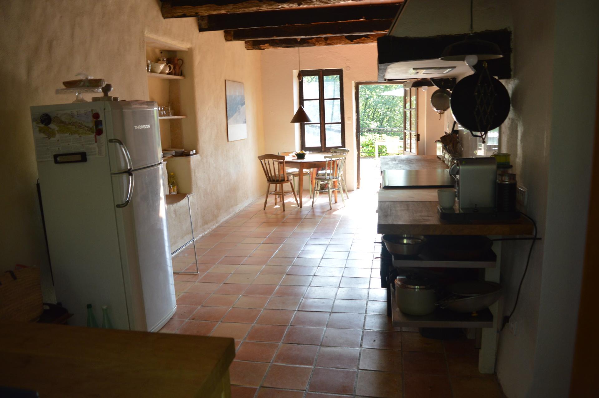 Oak Farmhouse Kitchen