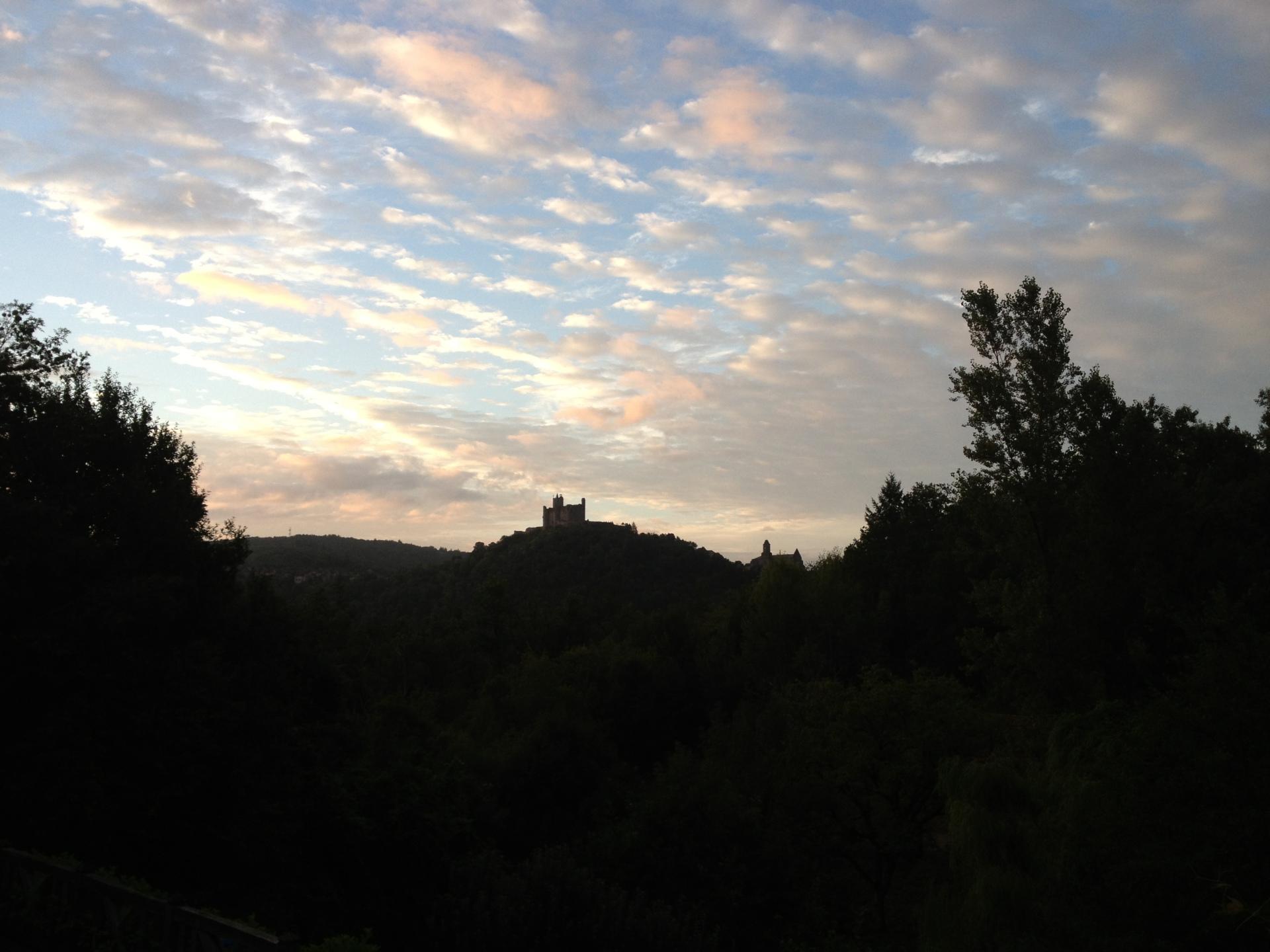View at Dusk
