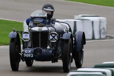 Potter takes 1st in Class at Goodwood