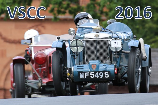 VSCC 2016 Race Calender confirmed and entries open