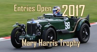 2017 Entries Open
