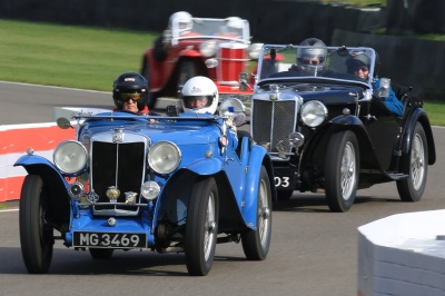 Triple-Ms shine at Goodwood Track Day