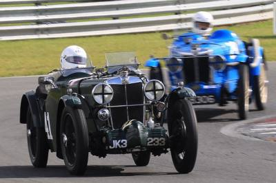 Team M.G. VSCC Intermarque Race Champions 2017