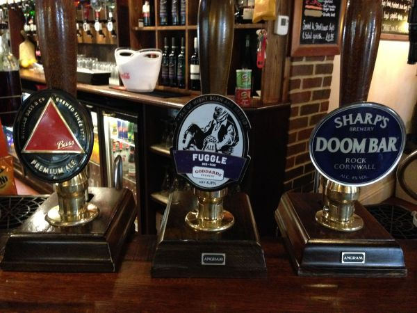 The Fighting Cocks Real Ales