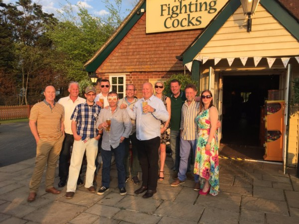 Birthday at The Fighting Cocks