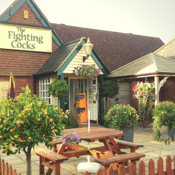 The Fighting Cocks shortlisted for Wight in Bloom