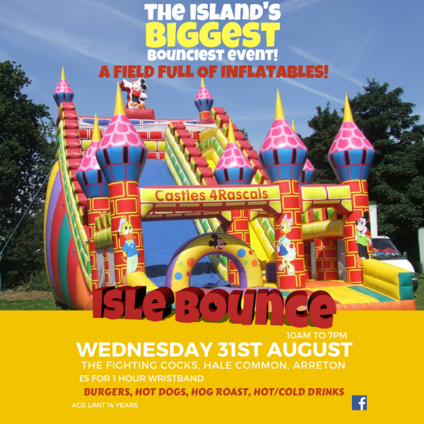 The Island's Biggest Bounciest Event!