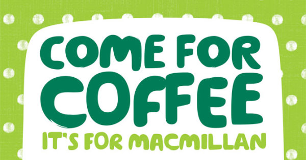 Macmillan Coffee Morning - 8th October