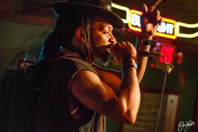 Q Carter Performing LIVE