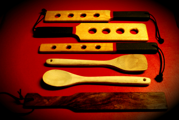 Many More Wooden Paddles