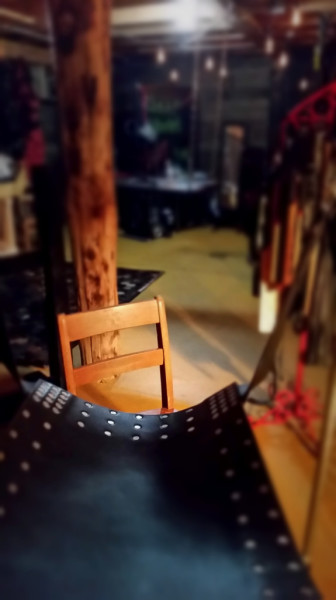 Leather Swing