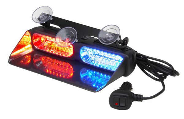 Whelen Avenger AVN2RB Dual LED Interior Light, Red/Blue