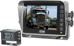 "Zone Defense® 5"" Digital LCD Monitor HEATED SHUTTER Camera System # ZD.322.1.SH.4P"