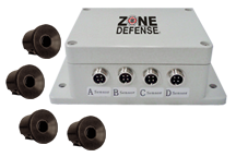 Zone Defense®  Heavy Duty Integrated Object Detection System # ZD.397HDB